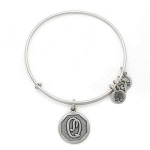 "Alex and Ani Silver ""Q"""