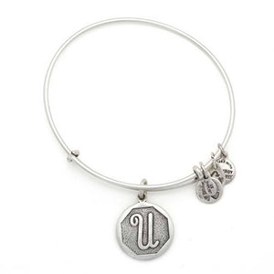 "Alex and Ani Silver ""U"""