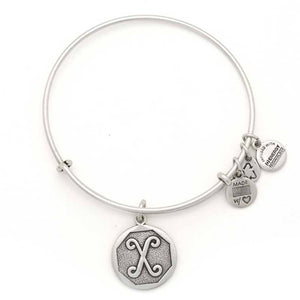"Alex and Ani Silver ""X"""