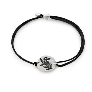 Alex and Ani Hufflepuff Kindred Cord Friendship Bracelet