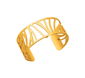 Les Georgettes Shiny Gold Perroquet Cuff 25mm