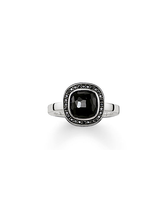 Thomas Sabo Black Stone Ring