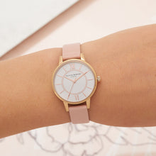 Olivia Burton Wonderland Dusty Pink and Rose Gold Watch