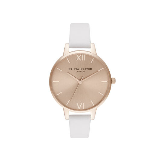 Olivia Burton Demi Sunray Blush and Pale Rose Gold Watch