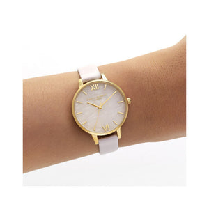 Olivia Burton Rose Quartz Blossom and Gold Watch