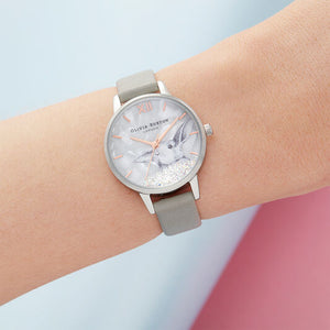 Olivia Burton Winter Wonderland Grey and Silver Watch