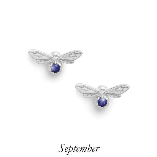 Olivia Burton Celebration Stone Bee Studs September