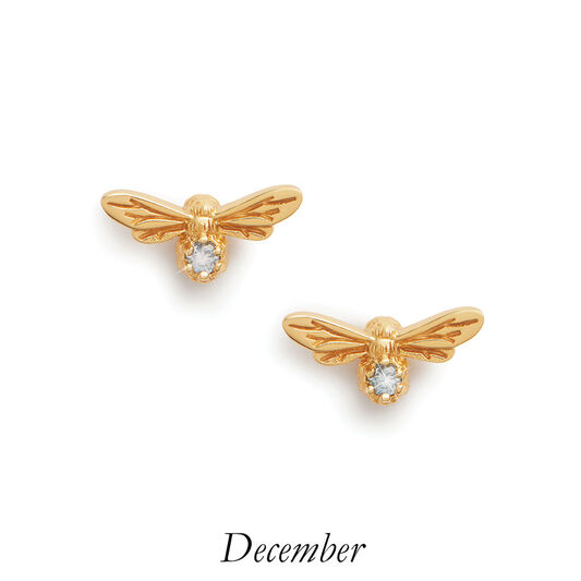 Olivia Burton Celebration Lucky Bee December earrings