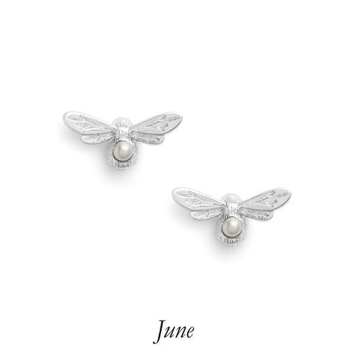 Olivia Burton Celebration Stones Bee Studs June