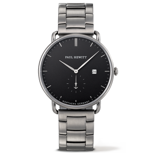 Paul Hewitt Grand Atlantic 42mm, Gun Metal Watch