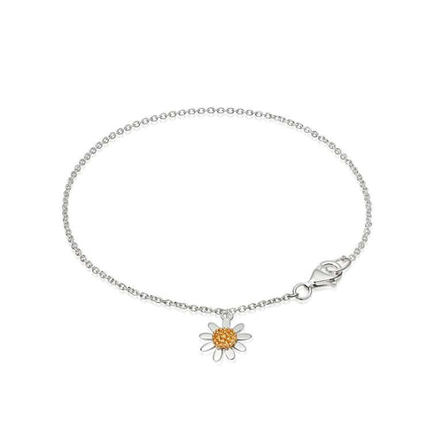 Daisy Marguerite Single Drop Bracelet