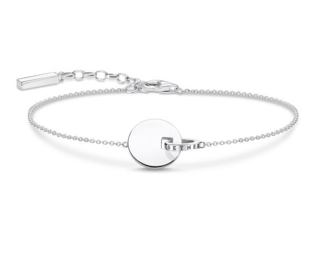 Thomas Sabo Together coin bracelet