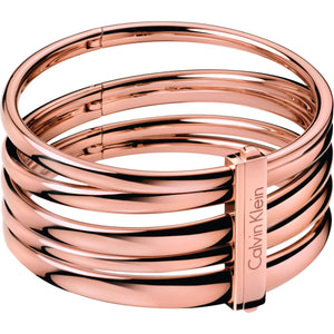 Calvin Klein PVD Rose Sumptuous Bangle