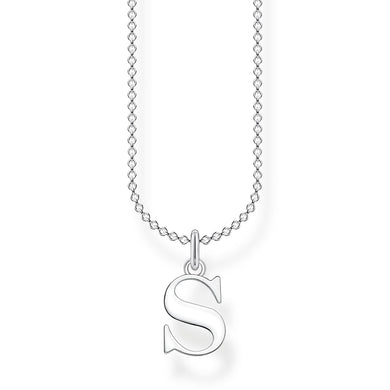 Thomas Sabo letter S initial necklace