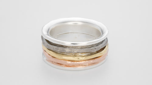 Bjorg Spinning Band Ring