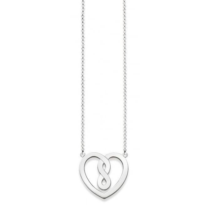 Thomas Sabo Infinity Heart Silver Necklace