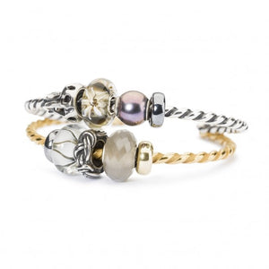 Trollbeads Grey Moonstone