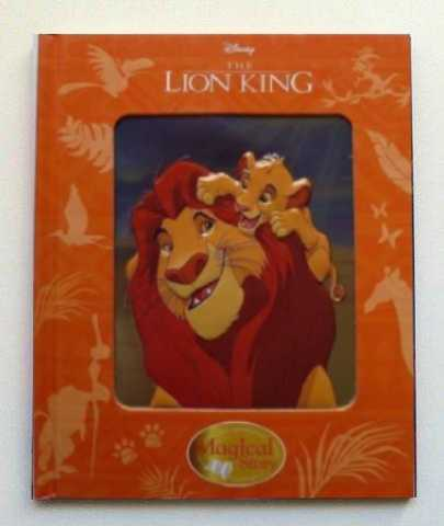 Disney the Lion King Magical Story Reading Book 3D Cover Children Kids Ages 3