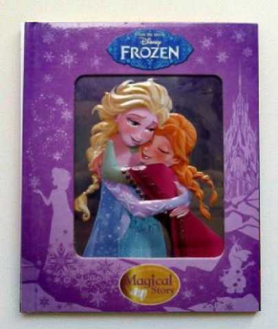 Disney Frozen Magical Story Reading Book 3D Cover Children Kids Ages 3 Gift New