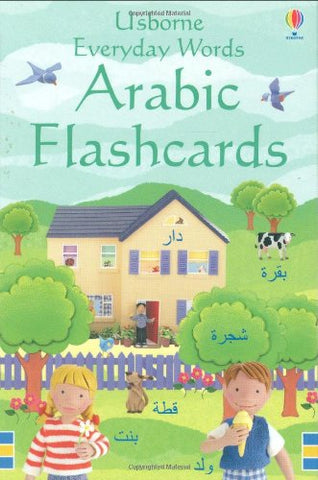 Usborne Everyday Words Arabic Flashcards