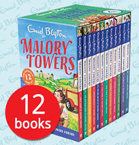 Malory Towers Box Set of 12 Books