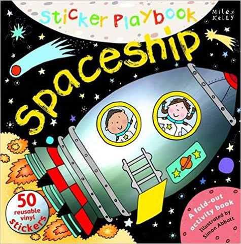 Sticker Playbook Spaceship