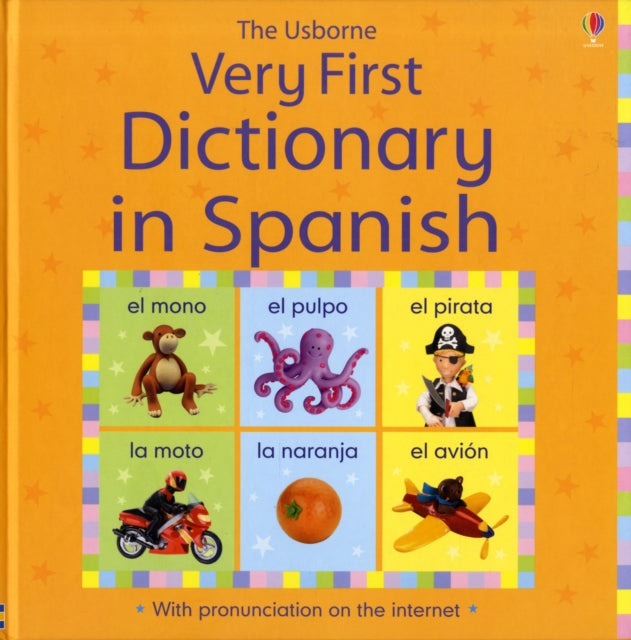 Usborne Very First Dictionary in Spanish