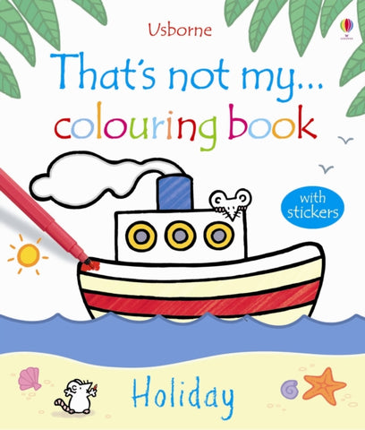 That's Not My Holiday Colouring Book