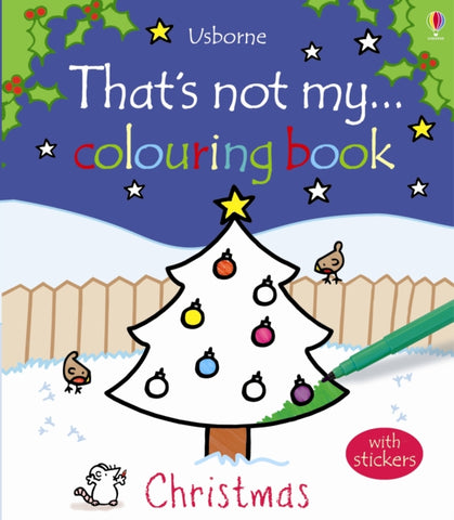 That's Not My Christmas Colouring Book
