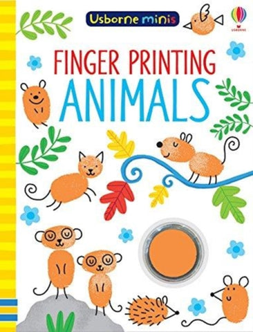 Usborne Finger Printing Animals
