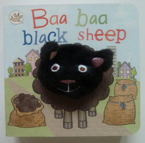Baa Baa Black Sheep Puppet Book