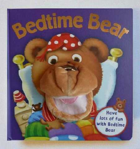 Bedtime Bear Puppet Book