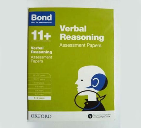 Bond 11 Assessment Papers Maths English Non Verbal Skills 5 6 Years Set of 4