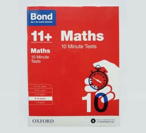 Bond 11 English Maths Assessment papers children age 8 9 Years primary New