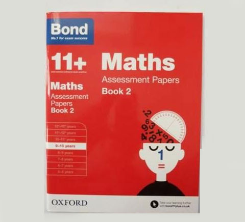 Bond 11 Assessment English Maths Comprehension Reasoning Paper 7 Books 9 10 OUP
