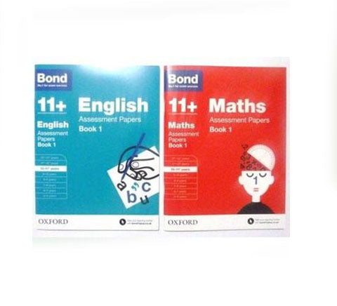 Bond 11 English Maths Assessment Papers Ages 10 11 Oxford U P New