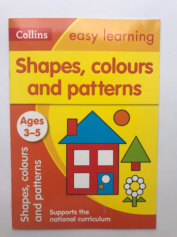Collins Set of 12 Numeracy Litracy Study Guid Book Children Age 3 5 Year New