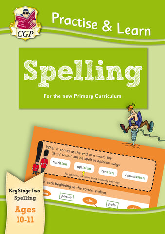 New Practise & Learn: Spelling for Ages 10-11