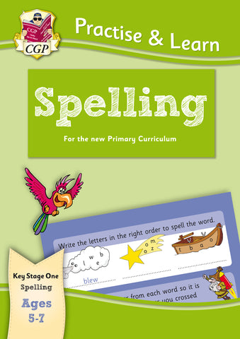 New Practise & Learn: Spelling for Ages 5-7