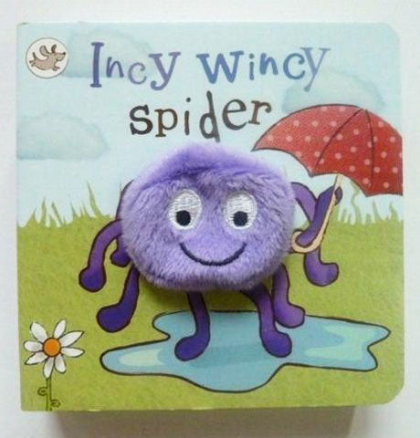 Incy Wincy Spider Puppet Book