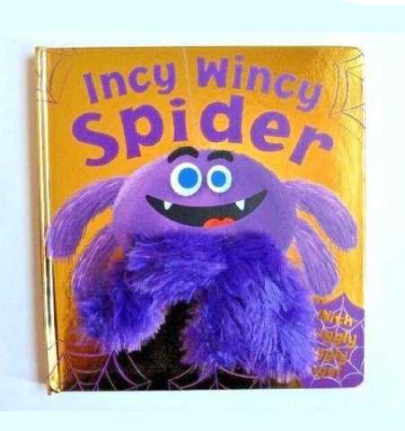 Incy Wincy Spider Finger Puppet Book (Little Learners)