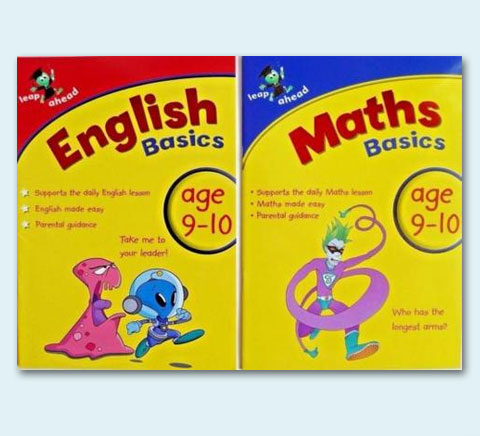 Leap Ahead:Maths & English Basics 9-10