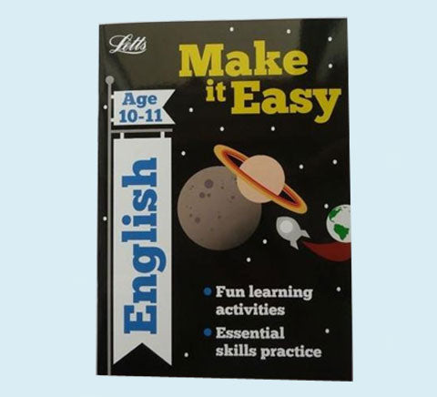 Letts Make it Easy English Maths Workbooks Children Age 10 11 KS2 Year 6
