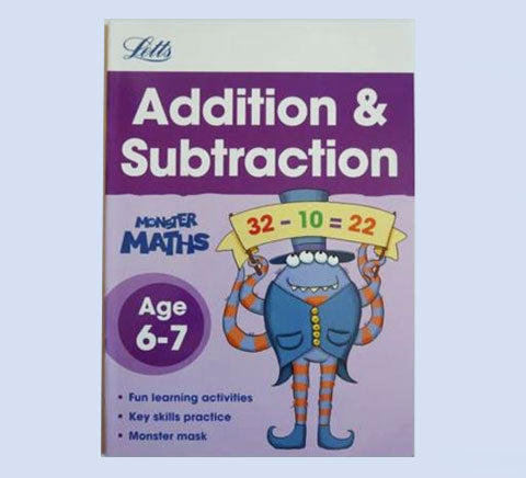 Tell the Time Handwriting Maths Add Subtract set Workbooks Age 6 7 KS1 Year 1 2