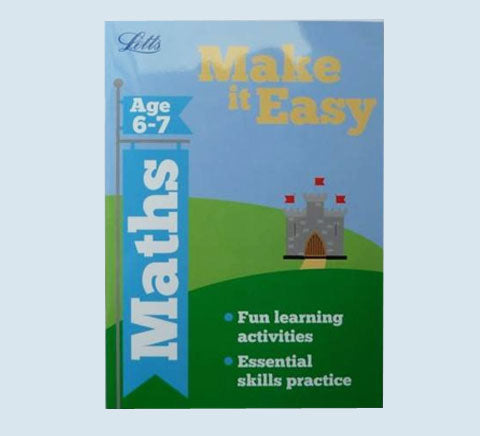 Letts Make it Easy English Maths Workbooks Children Age 6 7 KS1 Year 1 New