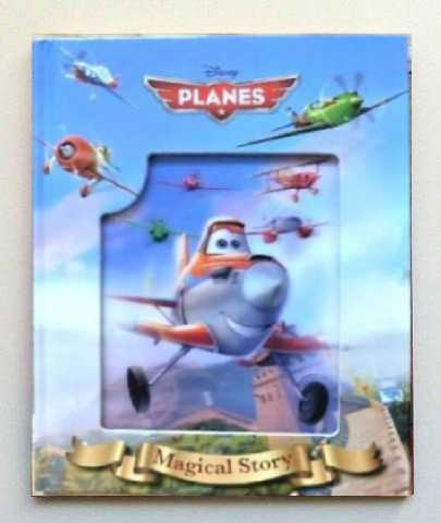 Planes 3d Magical Story Book
