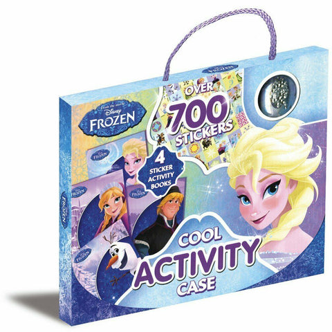 Disney Frozen Cool Activity Case Over 700 Stickers