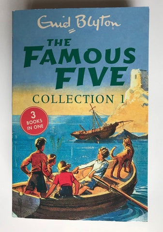 The Famous Five Collection 3 Books in 1 by Enid Blyton