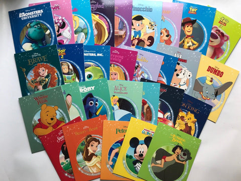 New Collection of 30 Disney Magical Story Books