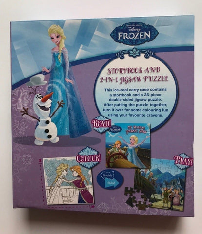 Disney Frozen My Magical Journey: Storybook and 2-in-1 Jigsaw Puzzle